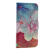 Leaves  Pattern With Diamond Phone Case For iPhone 5/5S