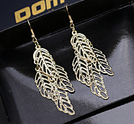 Ms Fashion Long Leaves The Upscale Atmosphere Long Earrings