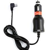 dearroad entrée 2a chargeur de voiture mini USB DC8V-36V avec 3,5 m pour le GPS de navigation véhicule caméra de voiture enregistreur DVR