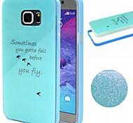 2-en-1 modelo del pájaro TPU + paragolpes pc estuche blando a prueba de golpes para Samsung nota 5