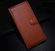 couro moda sujeira resistente ao caso da tampa flip-wallet para Apple iPhone 6 / 6s caixa do telefone capa