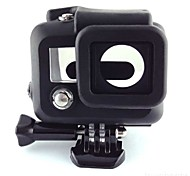 Soft Silicone Rubber Case Protective Cover Skin for GoPro Hero 3 Camera Housing Black