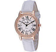 Women's Diamantes Formal Round Dial PU Band Quartz Analog Water Resistant Wrist Watch(Assorted Color) Cool Watches Unique Watches