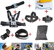 Accessoires GoPro Fixation / Avec Bretelles / Sacs / Accessoires Kit PourGopro Hero 2 / Gopro Hero 3 / Gopro Hero 3+ / Tous / Gopro Hero