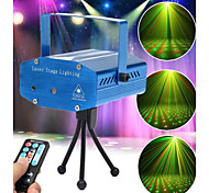 LT - WT Red + Green Remote Mini Twinkling Laser Stage Lighting (Voice control / self-propelled / Remote)