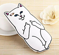 New Contempt for Cats in the Pocket of the Cat Cases for iPhone 6 Plus/iPhone 6S Plus(Assorted Colors)