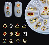 1box - Gioielli per unghie - Adorabile - Dito - di Metallo - 6cm
