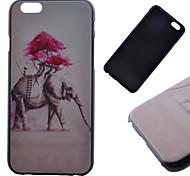 elefante padrão caso de volta difícil para iphone 6