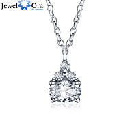 New Accessories 925 Sterling Silver Women Fashion Cubic Zirconia Necklaces & Pendants