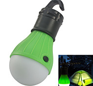 Outdoor Portable Hanging 3-LED Camping Tent Light Bulb White