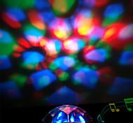 YOBO RGB Color Changing LED Crystral Magic Ball Light (Random Color)