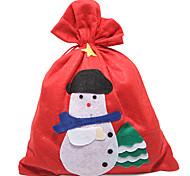 25cm x 30cm Non-woven Fabric Christmas Bag