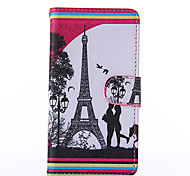 Love Pattern PU Leather Full Body Case with Stand for Nokia N640