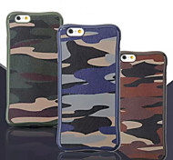 DROP Stickers Camouflage Skin TPU Phone Case for iPhone 6/ 6S (Assorted Colors)