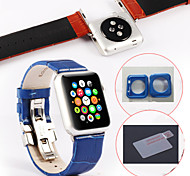 Newest Colours Sport Band Fashion Lndividuality Men And Women Watchband for Apple Watch 38mm、42mm (Assorted Colors)