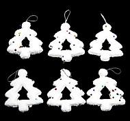 Navidad - Blanco - Plástico - Adornos -