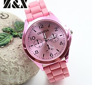 Women's Fashion Simplicity Quartz Silicon Analog Wrist Watch(Assorted Colors) Cool Watches Unique Watches