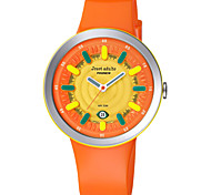 Pasnew®  Children Watch Cartoon Girl/Boy StudentsWatch Sports Watch Jelly Korean Birthday Gift PJA-6002A