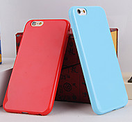 Solid Color TPU Candy Color Soft Cases for iPhone 5C(Assorted Colors)