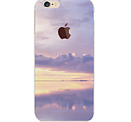 For iPhone 6 Case / iPhone 6 Plus Case Translucent / Pattern Case Back Cover Case Scenery Soft TPUiPhone 7 Plus / iPhone 7 / iPhone 6s