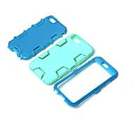 de haute qualité logiciel enfichable sur pc + silicone hybride combo armure Housse pour iPhone 6 / 6s (de couleurs assorties)