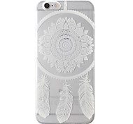 Dream Catcher Transparent Soft TPU Back Cover for iPhone 6/6S