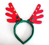 Christmas Decorations Red Bell Head Hoop Head buckle