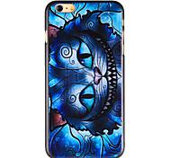 cool cat pattern pc Schutzhülle für iPhone 6 Plus