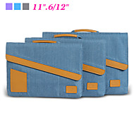 "Business Handbag Briefcase Laptop Sleeve Bag Shockproof Notebook Case for Apple Macbook Pro Air 11.6""/12"" with Retina"