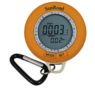 Sunroad OP100306 Mini LCD Digital Camping Hiking Pedometer Altimeter Barometer Compass Thermometer Weather Forecast Time