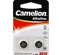 Camelion Alkaline Button Cell  Size AG10 (2pcs)
