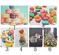 cuoio dell'unità di elaborazione biscotti modello di alta qualità con il caso del basamento per 7 pollici tablet universale