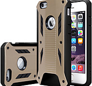 Rugged Armor Dual Layer PC+TPU Hybird Anti- shock case cover For iPhone 6 Plus / 6S Plus (Assorted Color)