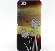 Butterfly Dandelion Pattern TPU Case for iPhone 5C