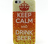 Keep Pattern TPU Soft Cover for iPhone 5/5S