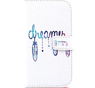 Dream Pattern PU Leather Case with Money Holder Card Slot for Galaxy Grand Neo/ GALAXY CORE Prime/ Galaxy Grand Prime