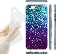 MAYCARI® The Crazy Mosaics  Transparent Soft TPU Back Case for iPhone 5/iphone 5s