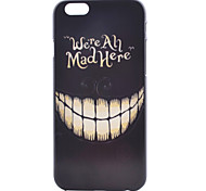 Smiling Face Painting Pattern PC Case for iPhone 6/6S