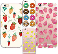 MAYCARI® Sweet Honey Transparent TPU Back Case for iPhone 6/iphone 6S(Assorted Colors)