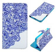 Blue And White Porcelain Pattern PU Leather Case for Nokia Lumia 630