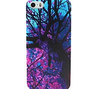 For iPhone 5 Case Pattern Case Back Cover Case Tree Soft TPU iPhone SE/5s/5 / iPhone 4s/4