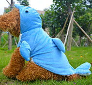 Dog Coat Blue / Pink Winter Animal / Cartoon Cosplay