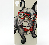 For Sony Case / Xperia Z5 Pattern Case Back Cover Case Dog Soft TPU for SonySony Xperia Z5 Premium / Sony Xperia Z5 Compact / Sony Xperia