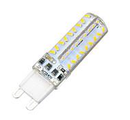 regulable de silicona G9 7W 700lm 3500k / 6500k 7x3014 lámpara bombilla llevada caliente / frío blanco (220-240V)