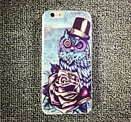 MAYCARI® Heaven of Owls Transparent TPU Back Case for iPhone 6/iphone 6S