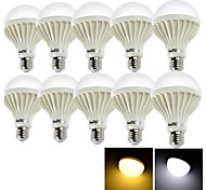 Bombillas LED de Globo Decorativa YouOKLight E26/E27 15W 24 SMD 5630 1050 LM Blanco Cálido / Blanco Fresco AC 100-240 V 10 piezas