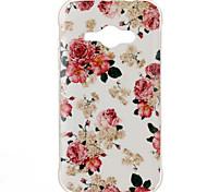 Rose Pattern TPU Soft Case for Galaxy J1 Ace