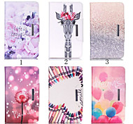 For Samsung Galaxy Case Card Holder / Wallet / with Stand / Flip / Pattern Case Full Body Case Cartoon PU Leather Samsung Tab A 9.7