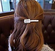 Rhinestone Square Hair Clip Barrettes
