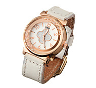 Watch Women Genuine Leather Band Rhinestone Quartz Analog Wrist Watch (Assorted Colors) Cool Watches Unique Watches
